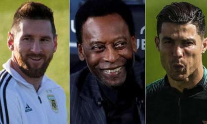 Pelé, 80 años de récords que persiguen Messi, Neymar y Cristiano Ronaldo
