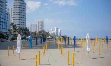 En video | Cartagena reabre más sectores de playas este sábado en Bocagrande