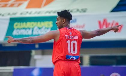 Tonny Trocha fue el segundo máximo encestador del juego con 23 puntos. Un triple suyo fue fundamental para ganar el partido.
