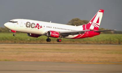 GCA Airlines reinició operación en Colombia