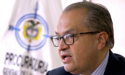 El procurador general de la Nación, Fernando Carrillo, dice que la iniciativa incluye pedagogía legal.