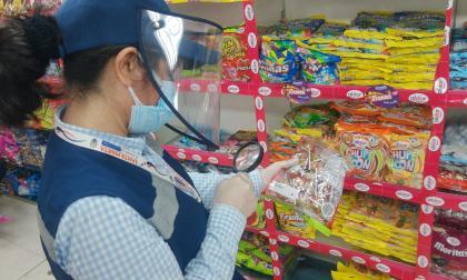 En Santa Marta dan de baja 16.331 confites no aptos para el consumo