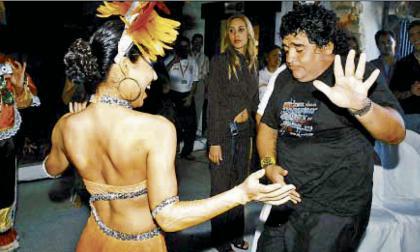 Escenas de Maradona en Barranquilla en sus 60 años de película