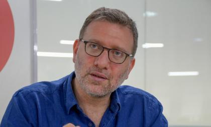 El embajador Cantor en su visita a EL HERALDO