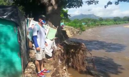Alerta roja por crecientes súbitas en el río Guatapurí