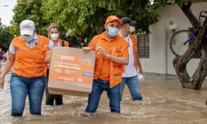 Gobierno nacional atiende emergencia invernal en Magdalena