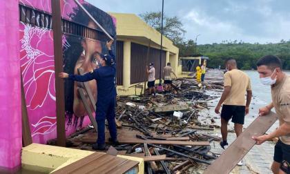 En video   Calamidad pública en San Andrés por Eta