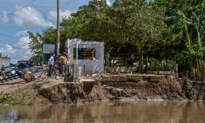Solicitan nuevas pruebas técnicas por erosión de la vía Salamina - El Piñón