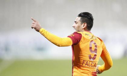 Falcao marcó gol en la segunda jornada de Eliminatoria ante Chile.