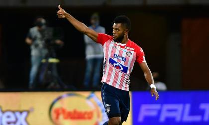 El delantero cordobés Miguel Ángel Borja volverá a comandar el ataque rojiblanco hoy, frente a Alianza Petrolera, en el estadio Romelio Martínez.
