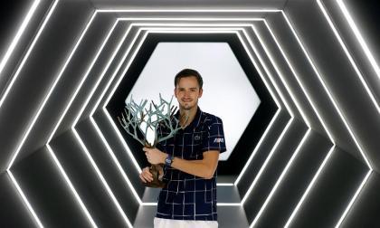 Medvedev conquista el Masters 1.000 de París