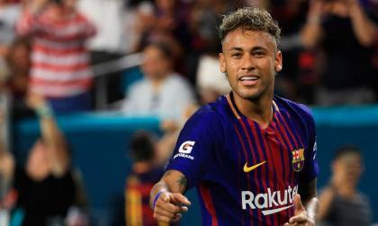 Neymar, actualmente jugador del PSG.