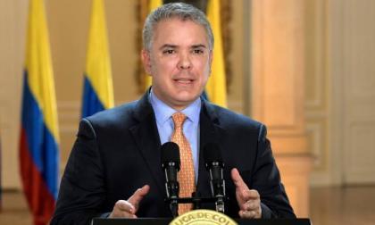 Duque dice que el Constitucional peruano debe pronunciarse sobre crisis