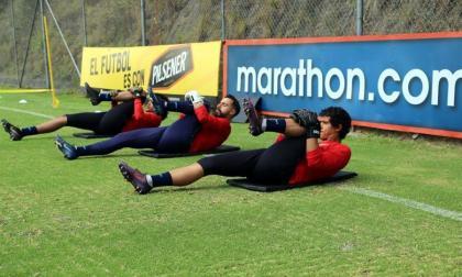 Ecuador vuelve a entrenarse para recibir a Colombia