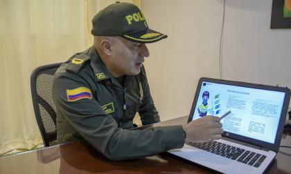 Mayor Carlos Barrera, comandante de Fuerza de Control Territorial.