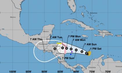 Emiten vigilancia de huracán en Isla de Providencia por paso de Iota