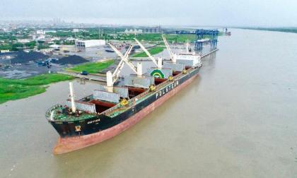 Calado autorizado para el Puerto de Barranquilla cayó a 8.3 metros