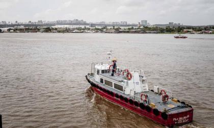 La alta sedimentación está afectando la estabilidad del canal de acceso.