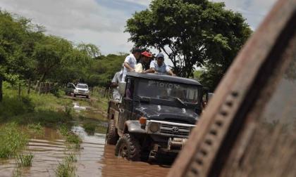 Declaran alerta naranja por deslizamientos en Manaure