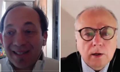 Ricardo Sánchez, oficial de Asuntos Económicos de Cepal en Argentina y Octavio Doerr, Consultor Senior de Cepal en Chile.
