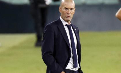 Zinedine Zidane mantiene la ilusión y felicitó a sus jugadores por el esfuerzo plasmado en la cancha.