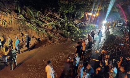 En video | Al menos siete muertos tras deslizamiento de tierra en Antioquia