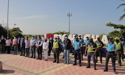 Se lanza en Riohacha la Unidad Defensora del Espacio Público