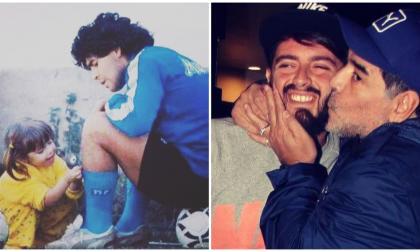 Hijos de Maradona lo despiden con emoción a través de las redes sociales