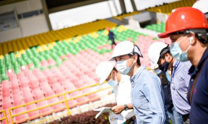 En el estadio Manuel Murillo Toro se iniciaron algunos trabajos de refacción.