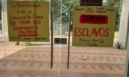 Empleados de la Alcaldía de Sincelejo denuncian favoritismo político