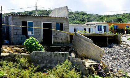 Damnificados de Puerto Colombia lanzan S.O.S