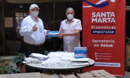 Dotaron con 31.455 elementos de protección a la ESE de Santa Marta