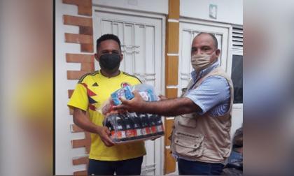 El ángel venezolano que ayuda a sus compatriotas en Valledupar
