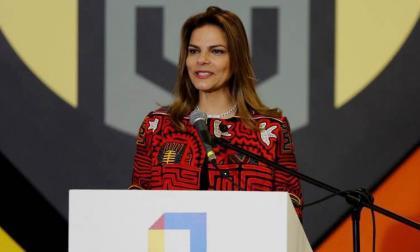 Flavia Santoro, presidenta de Procolombia.