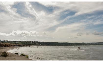 En Video | Baja afluencia en playas este 8 de diciembre