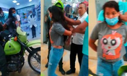 Cárcel para joven detenida por robo en joyería de Montería
