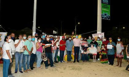 Barrio abajo festejó los 101 años de la novia de Barranquilla.