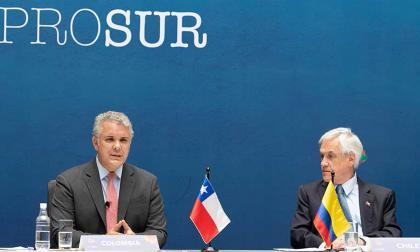 Colombia asume la presidencia pro tempore de Prosur