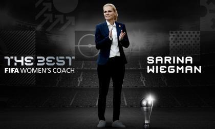 Sarina Wiegman, mejor entrenadora de fútbol femenino 2020