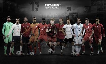 Este fue el once ideal de la FIFPro/FIFA anunciado durante la gala de The Best.