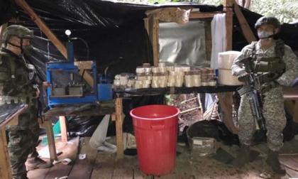 Destruyen en Nariño dos toneladas de cocaína de las disidencias de las FARC