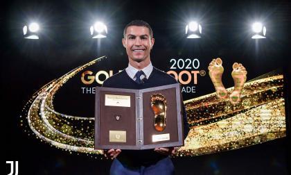 """Cristiano recibe el Golden Foot: """"Daré siempre lo mejor para seguir marcando"""""""