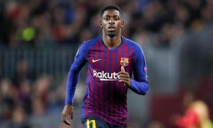 Barcelona recupera a Dembelé, que puede volver ante el Valladolid