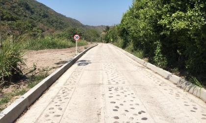 Gobierno nacional entrega vías terciarias en La Guajira