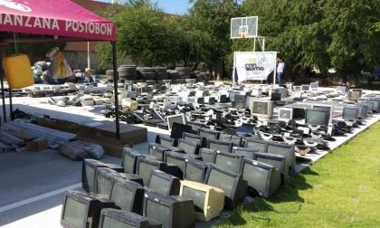 Computadores, entre basura samaria