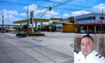 Sitio donde perdió la vida Wilson Pulido Castilla.