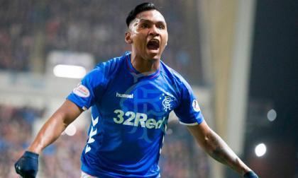 Alfredo Morelos rompe su sequía con el Rangers en la liga escocesa