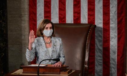 Nancy Pelosi, ratificada al frente de la Cámara Baja