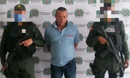 Policía captura a alias 'Tabaco' en Sincelejo