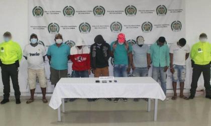 Capturan a presuntos miembros del 'Clan del Golfo' en Lorica, Córdoba